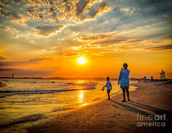 Wall Art - Photograph - Watching The Sunset by Nick Zelinsky