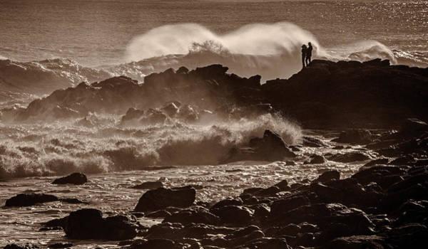 Photograph - Watching The Waves by Nancy De Flon