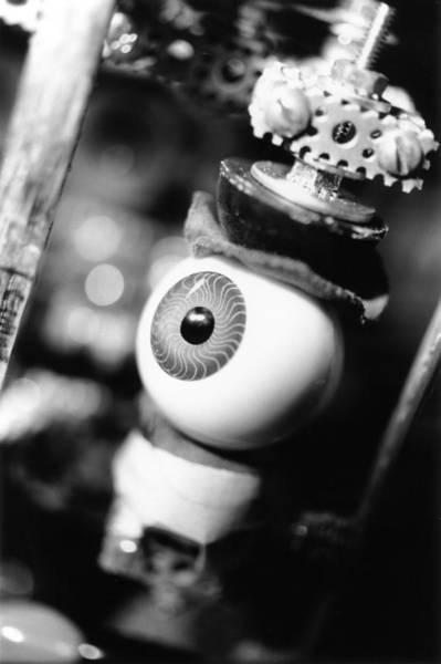 Eye Ball Photograph - Watching You by Jeffery Ball
