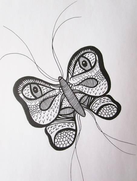 Drawing - Watching You by Rosita Larsson