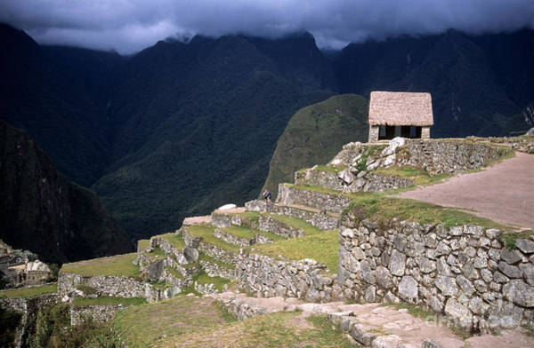 Photograph - Watchmans Hut Machu Picchu by James Brunker