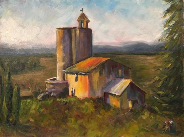 Wall Art - Painting - Watchtower by Kate Segriff