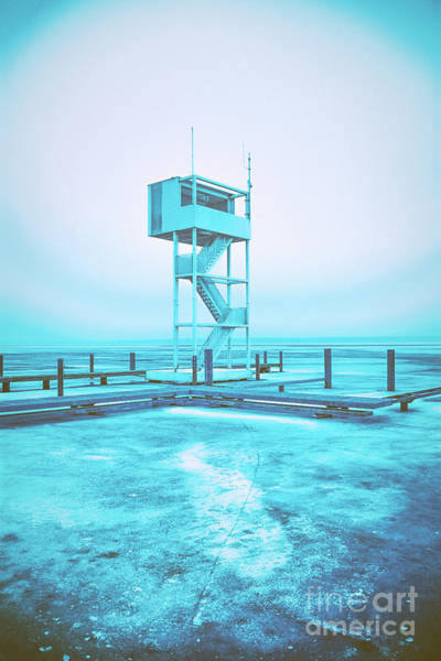Photograph - Watchtower Of Water Rescue by ARTSHOT - Photographic Art