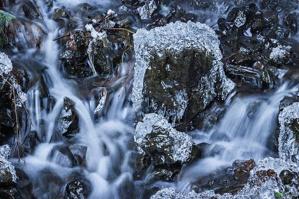 Photograph - Water And Ice by Hans Franchesco