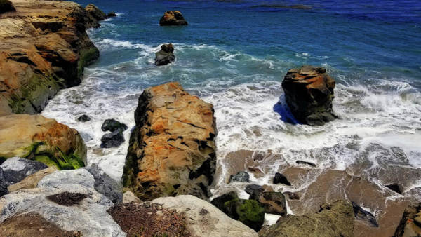 Photograph - Water And Rocks by Eric Wiles