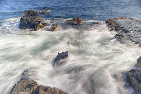 Photograph - Water And Rocks by Raymond Salani III