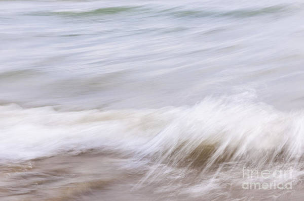 Wall Art - Photograph - Water And Sand Abstract 1 by Elena Elisseeva