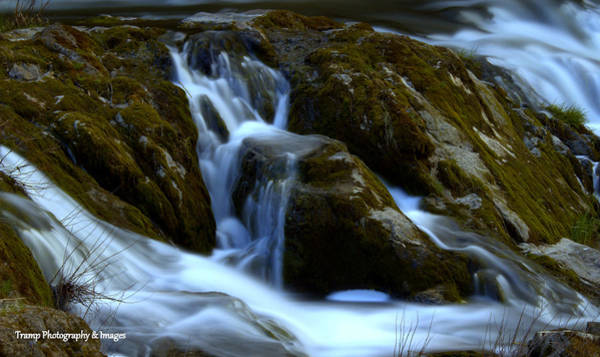 Photograph - Water And Stone by Wesley Nesbitt