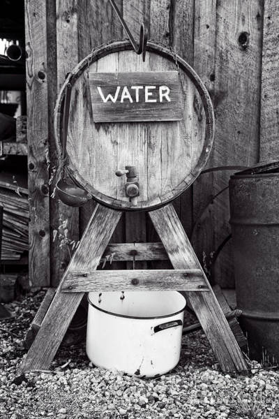 Photograph - Water Barrel  by Scott Kemper
