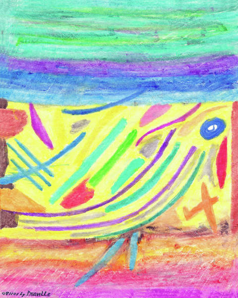 Painting - Water  Color  8_11_2001 by Carl Deaville