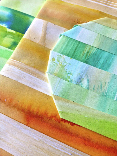 Wall Art - Painting - Water Color And Paper by Rika Maja Duevel