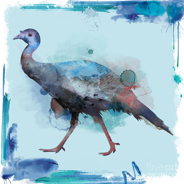 Turkish Mixed Media - Water Color Turkey by Peter Awax