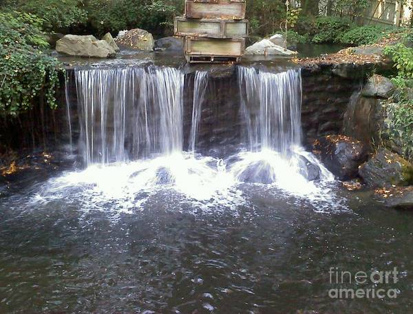 Photograph - Water Fall  by Jimmy Clark