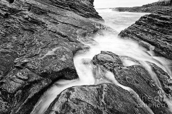 Wall Art - Photograph - Water Flow by Jamie Pham