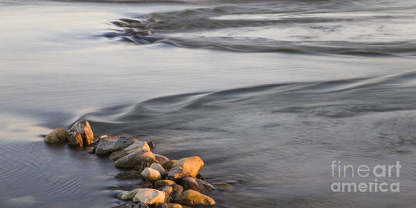 Wall Art - Photograph - Water Flowing On Platte River by Twenty Two North Photography