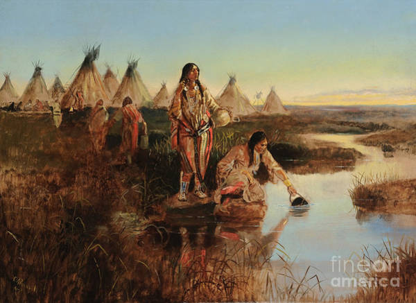 Painting - Water For Camp by Celestial Images