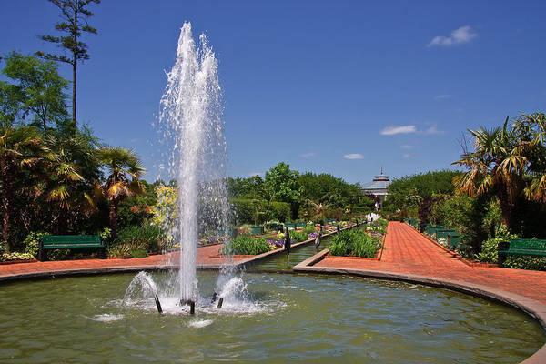 Photograph - Water Fountain At Daniel Stowe by Jill Lang