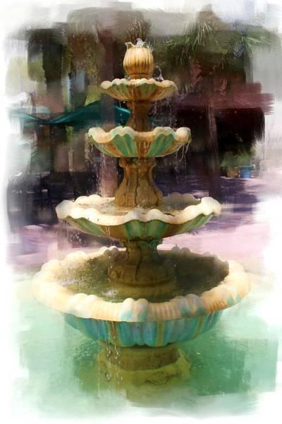 Photograph - Water Fountain Series 2228 by Carlos Diaz