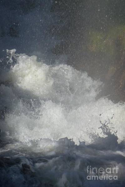 Photograph - Water Fury 2 by Jean Bernard Roussilhe