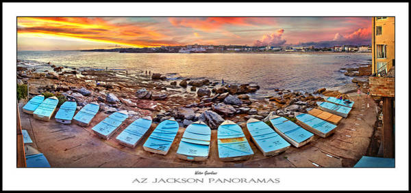 Pathway Photograph - Water Guardians Poster Print by Az Jackson
