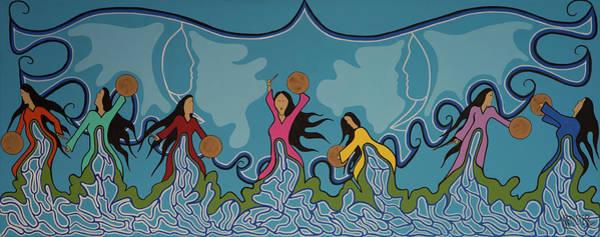 Wall Art - Painting - Water Is Life by Krystle Retieffe