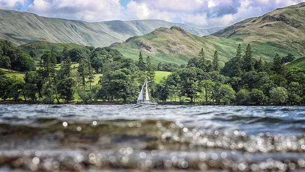 Ullswater Photograph - Water Level by Martin Newman