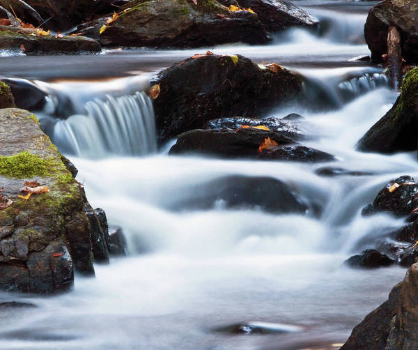 New Preston Ct Photograph - Water Like Mist by David Freuthal