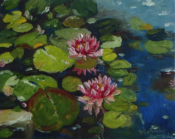 Painting - Water Lilies by Monica Ironside