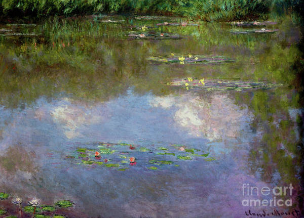 Wall Art - Painting - Water Lilies, The Cloud, 1903 by Claude Monet