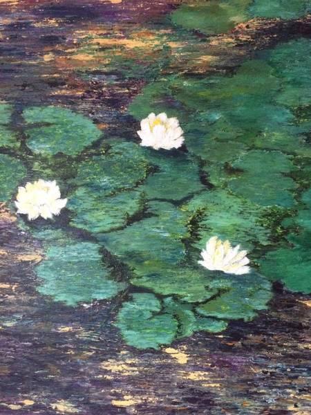 Wall Art - Painting - Water Lillies by Sylvia Royal