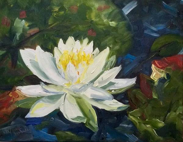 Painting - Water Lily by Monica Ironside