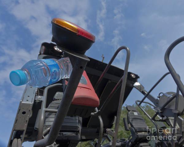 Heavy Duty Truck Wall Art - Photograph - Water Machine by Terri Waters