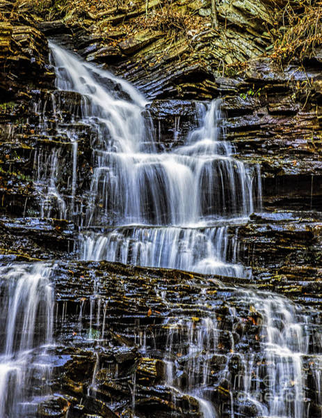 Photograph - Water On The Rocks by Nick Zelinsky