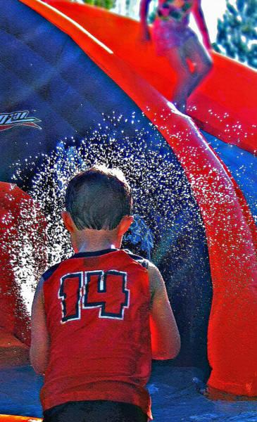 Fun Wall Art - Photograph - Water Play by Steve Ohlsen