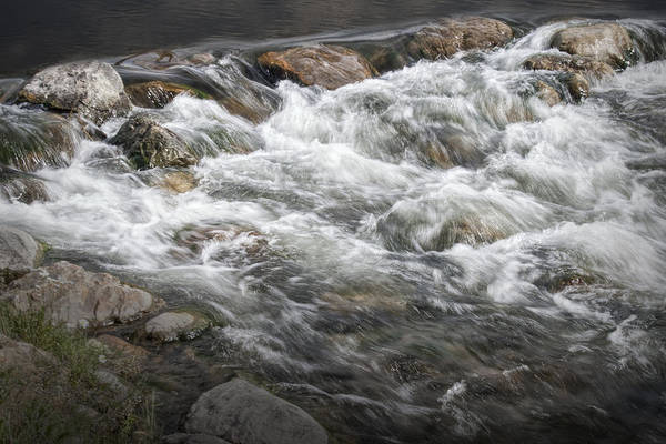 Photograph - Water Rapids In Breckenridge Colorado by Randall Nyhof