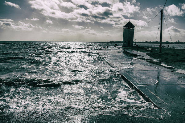 High Tide Photograph - Water Rising by Martin Newman