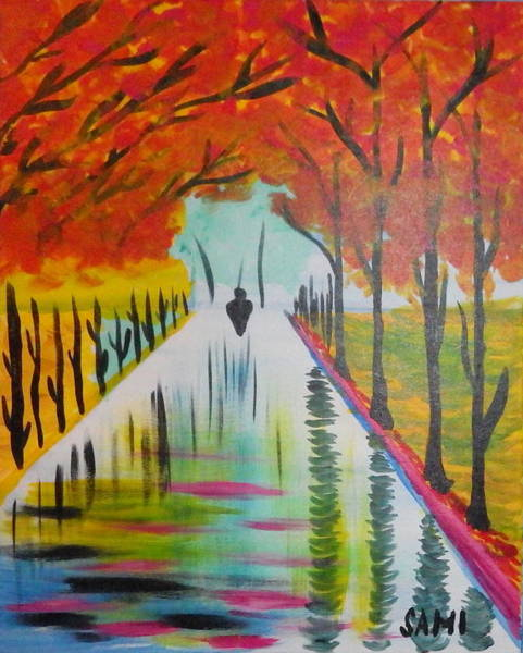 Wall Art - Painting - Water by Samuel Ciocan