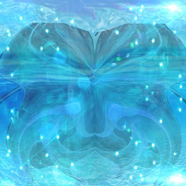 Digital Art - Water Spirit by Karen Buford