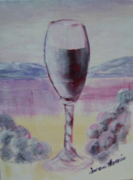 Okanagan Valley Painting - Water To Wine by Susan Harris