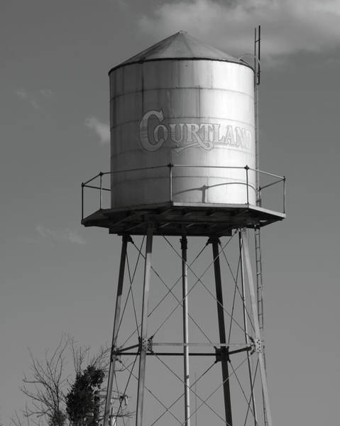 Water Tower Courtland Ca Art Print