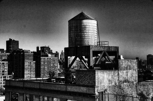 Photograph - Water Tower by Michael Raiman