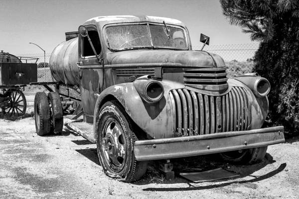 Photograph - Water Truck - Chevrolet by Gene Parks
