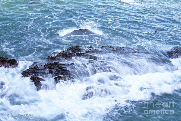 Photograph - Water Turmoil by Richard J Thompson