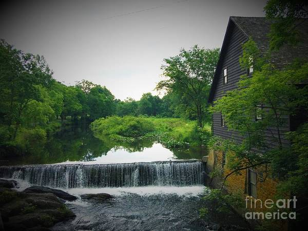 Wall Art - Photograph - Water View By The Mill by William Rogers