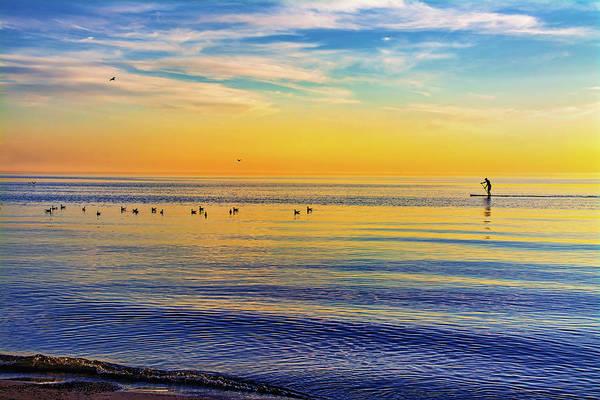 Sauble Beach Photograph - Water Walker by Steve Harrington
