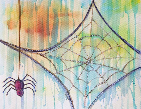 Painting - Water Web by Angelique Bowman