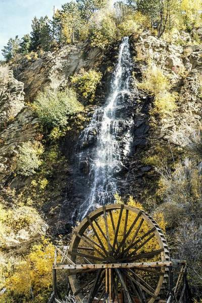 Photograph - Water Wheel Falls by NaturesPix