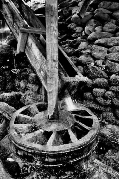 Wall Art - Photograph - Water Wheel by Paul W Faust -  Impressions of Light