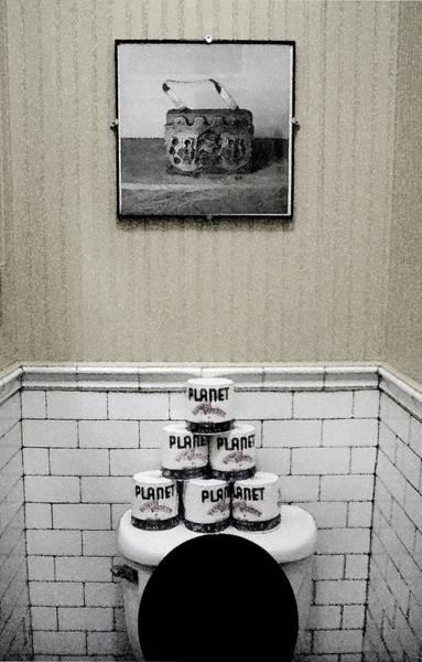 Toilet Photograph - Watercloset by Cathy Dixson