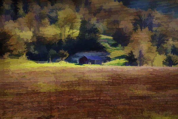 Wall Art - Photograph - Watercolor Barn Southwest Wisconsin by Thomas Young